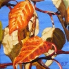 """Small Wonders, oil on canvas, 4"""" x 4"""""""