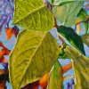 """Late Summer,  oil on canvas, 7"""" x 7"""" (SOLD)"""
